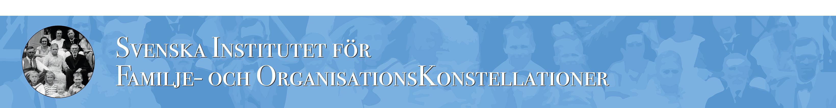 Svenska Institutet för Familje- och OrganisationsKonstelationer